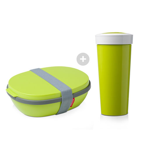 Mepal - Set - Lunchbox + Trinkbecher to go