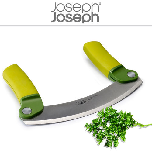 Joseph Joseph - Weighing knife Mezzaluna green