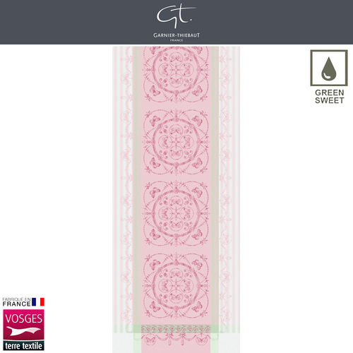 Garnier Thiebaut Table Runner - Eugenie Candy