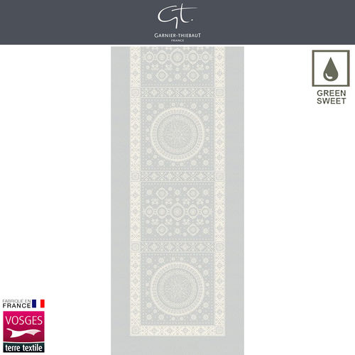 Garnier Thiebaut Table Runner - Imperatrice Argent