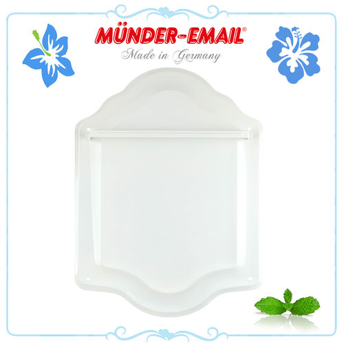 Münder Email - Spoon Sheet - white