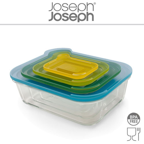 Joseph Joseph - Nest ™ Glass Storage 4 Pieces