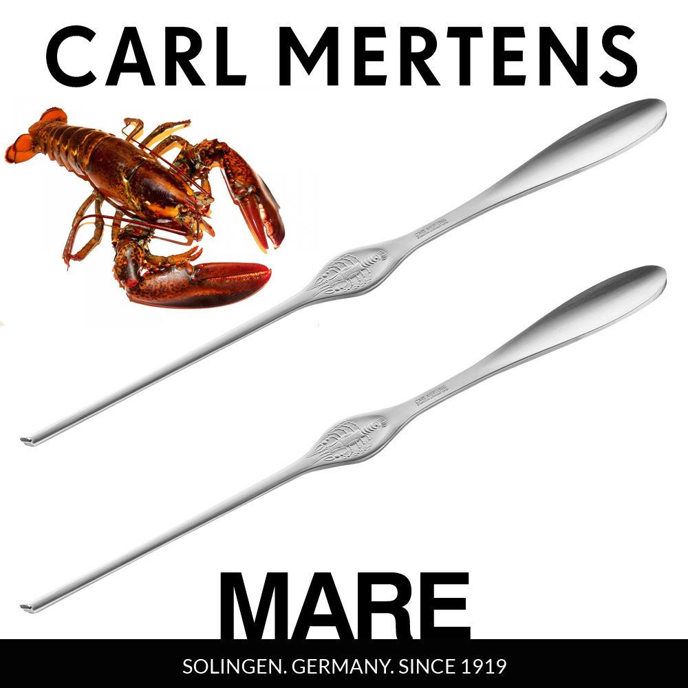 Carl Mertens - MARE Lobster fork set of 2