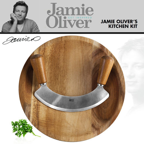 Jamie Oliver - Chopping Knife with Board