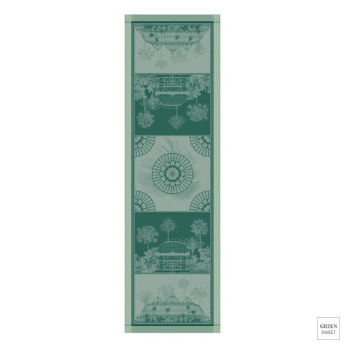 Garnier Thiebaut Table Runner - Serres Royales Vert Empire - GS
