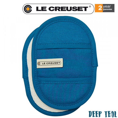 Le Creuset - Fingertip Potholders Set of 2 -  Deep Teal