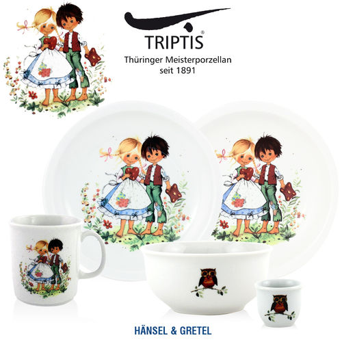 Triptis - Children's tableware - Hänsel & Gretel