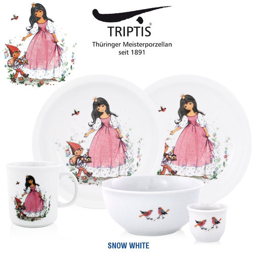 Triptis - Children's tableware - Snow White