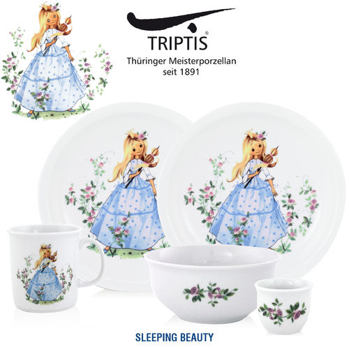 Triptis - Children's tableware - Sleeping Beauty