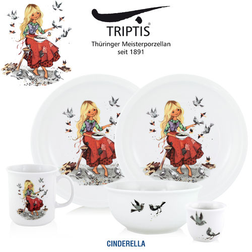 Triptis - Children's tableware - Cinderella