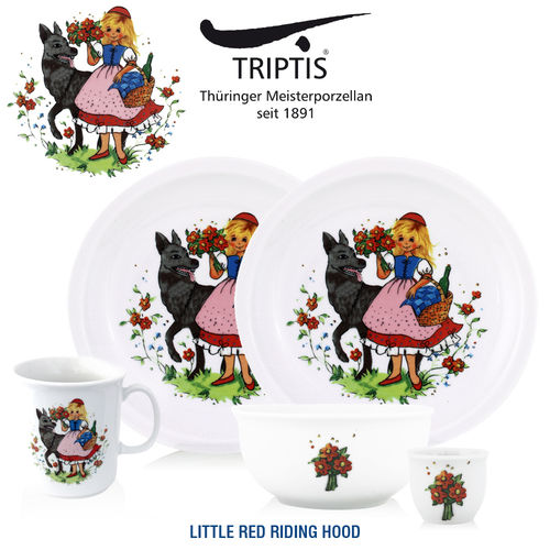 Triptis - Children's tableware - Little Red Riding Hood