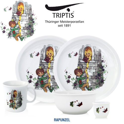 Triptis - Children's tableware - Rapunzel