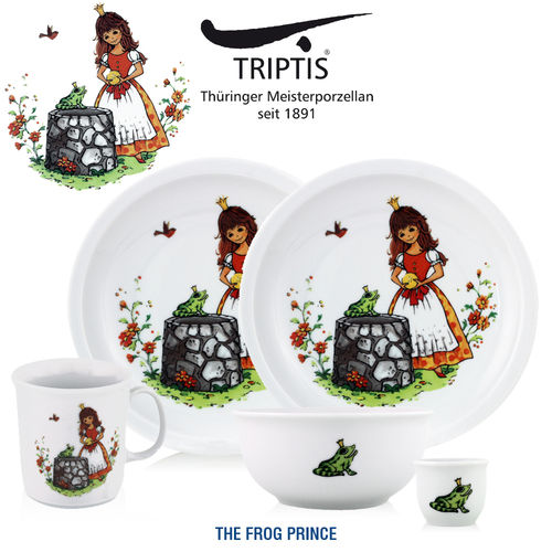 Triptis - Children's tableware - Frog Prince