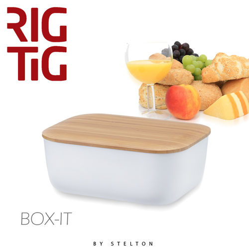 Stelton - RigTig - Butterbox - White
