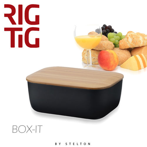 Stelton - RigTig - Butterbox - Black