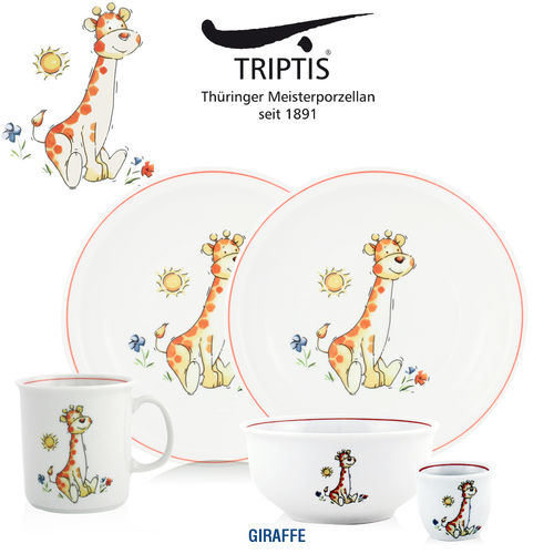 Triptis - Children's tableware - Giraffe