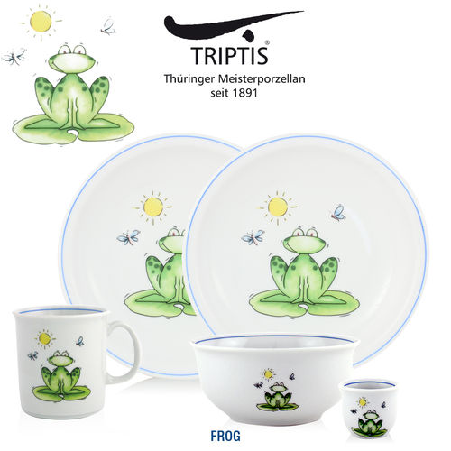 Triptis - Children's tableware - Frog