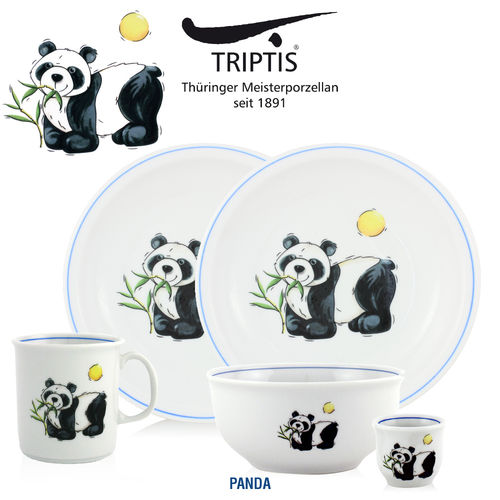 Triptis - Children's tableware - Panda
