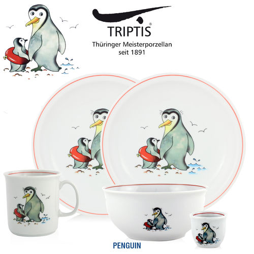 Triptis - Children's tableware - Pinguin