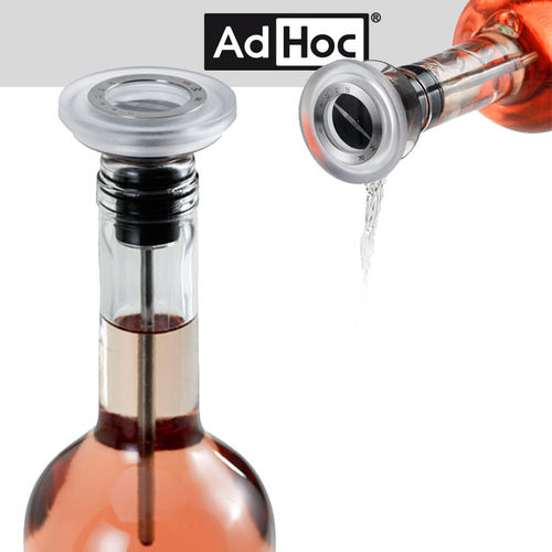 Ad Hoc - Thermometer, spout and cap GUSTO, clear
