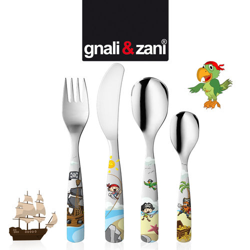 Gnali & Zani - Children's Cutlery Pirates