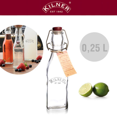 Kilner - Glass bottle 0.25 liters