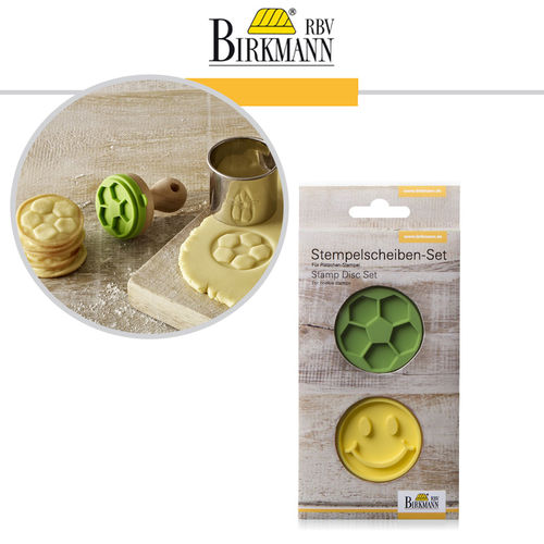 RBV Birkmann - Stamp set Happy & Football