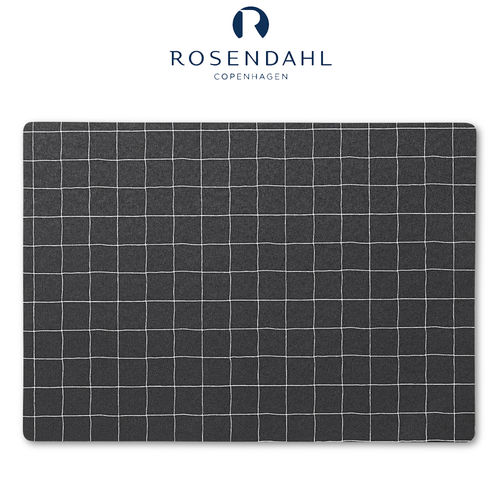 Rosendahl - Nanna Ditzel placemat 30x45 cm black checkered