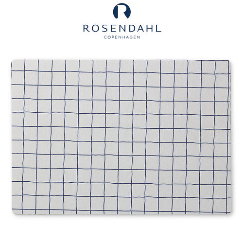 Rosendahl - Nanna Ditzel placemat 30x45 cm light grey checkered