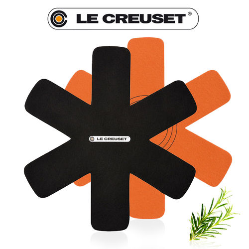 Le Creuset - Pan protection 3 pieces