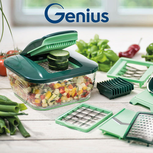 Genius - Nicer Dicer Chef Set of 15 pcs.