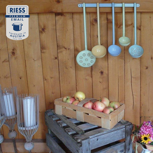 Riess - Enamel - Set of Kitchen Tools + Kitchen Bar