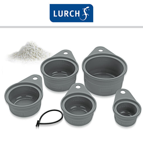Lurch - Measuring Cup Set Silicone 5 Pieces