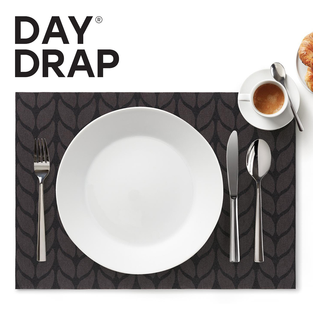DAY DRAP - Placemat - Soft Wool Grey - 45 x 32 cm