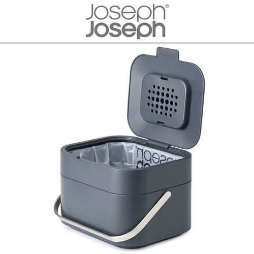 Joseph Joseph - Food waste caddy Stack 4 graphite