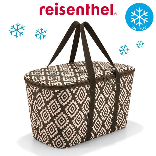 reisenthel - coolerbag - diamonds mocha