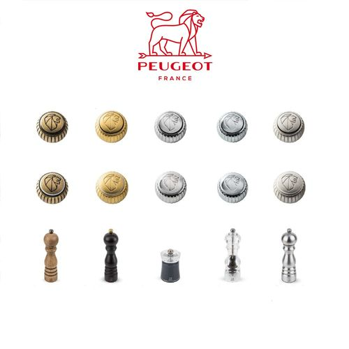 PSP Peugeot - Head Screws Peugeot Mills