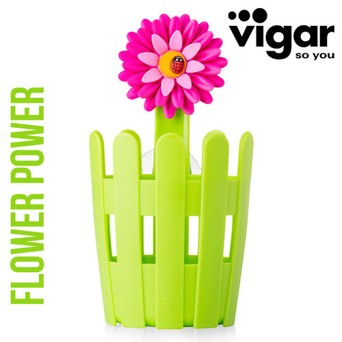 Vigar - Utensil container Flower Power