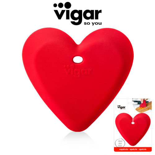 Vigar - Love silicone scraper Flower Power
