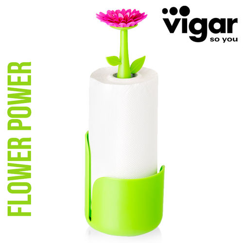 Vigar - Kitchen Roll Holder Flower Power