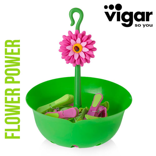 Vigar - Flower Power Forceps Basket