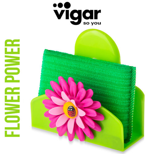 Vigar - Sponge Holder Flower Power