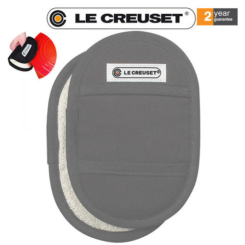 Le Creuset - Fingertip Potholders Set of 2 - Perlgrey
