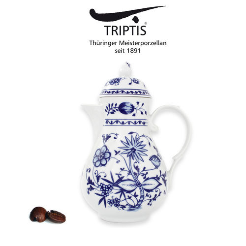 Triptis - Romantika - onion pattern - coffee pot 1,4 L