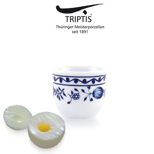 Triptis - Romantika - onion pattern - egg cup 4 cm