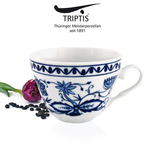 Triptis - Romantika - onion pattern - coffee cup