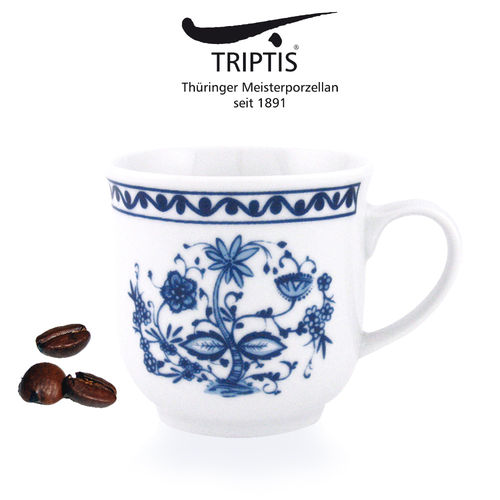 Triptis - Romantika - onion pattern - mug with handle