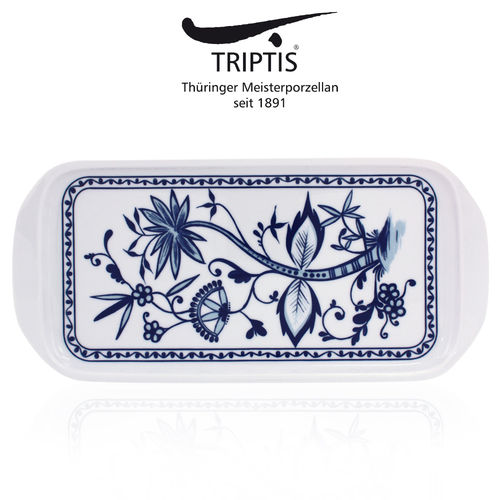 Triptis - Romantika - onion pattern - sandwich tray