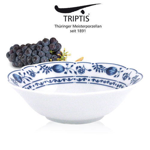 Triptis - Romantika - onion pattern - bowl
