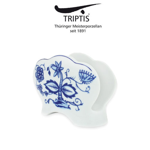 Triptis - Romantika - onion pattern - napkin holder